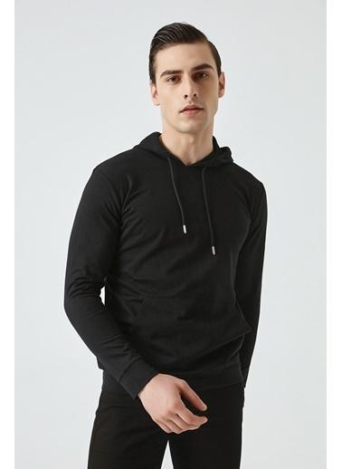 D'S Damat Regular Fit Sweatshırt Siyah